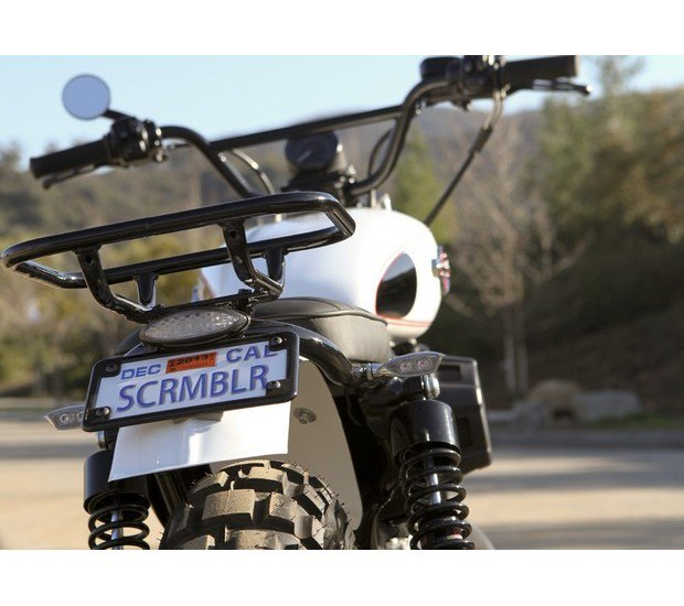 Мастерская Burly Brand представила скрэмблер на основе Harley-Davidson Sportster. Изображение № 14.