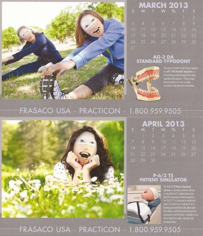 Стена плача: Худшие календари на 2014 год. Изображение № 51.