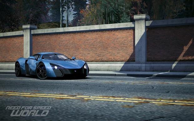Российский спорткар Marussia B2 появится в игре Need for Speed World. Изображение № 4.