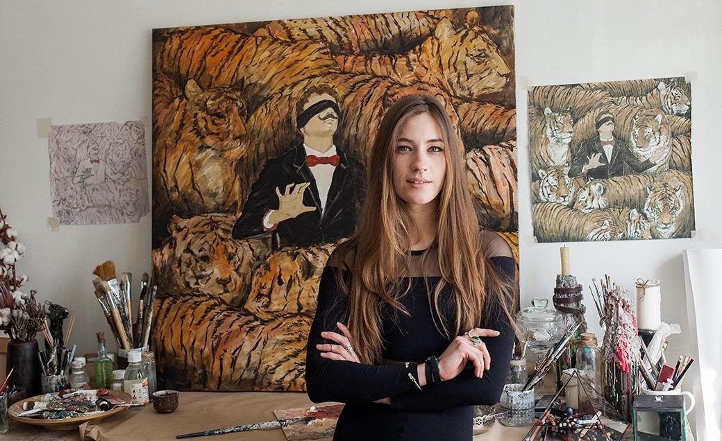 Дом культуры: Молодые московские художники и их мастерские. Изображение № 32.
