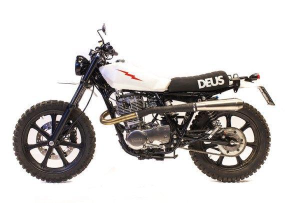 Мотомастерская Deus Ex Machina представила кастом на базе Yamaha SR. Изображение № 8.