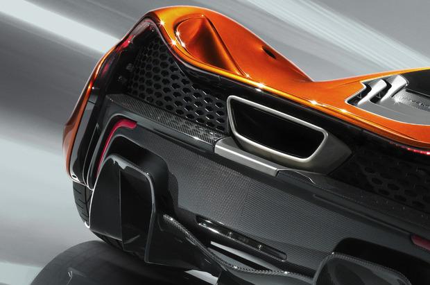 McLaren выпускает новый суперкар P1. Изображение № 8.