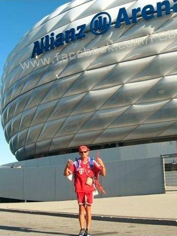 Болельщик «Баварии» прошел 960 километров пешком до стадиона. Изображение № 3.