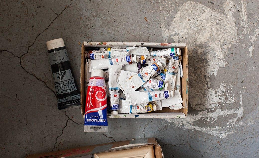 Дом культуры: Молодые московские художники и их мастерские. Изображение № 30.