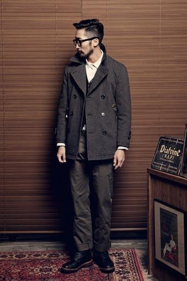 Корейская марка Diafvine выпустила лукбук осенней коллекции одежды. Изображение № 5.