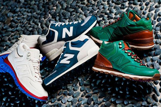 Совместная коллекция New Balance, Streething и Leftfoot. Изображение № 4.