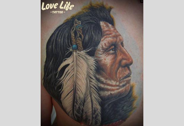 Избранные работы студии Love Life Tattoo. Изображение № 16.