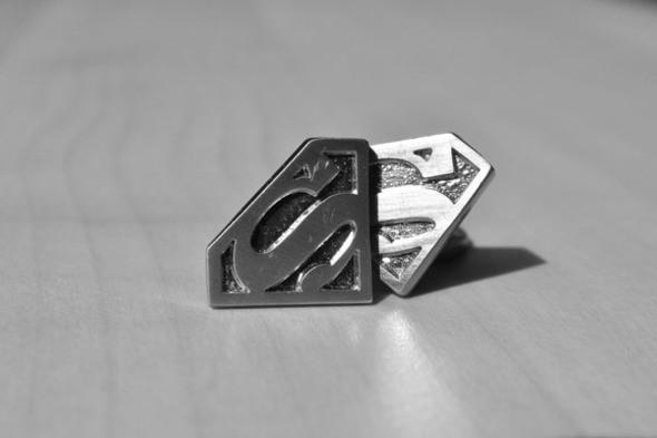 Запонки со значком Супермена. Изображение № 38.