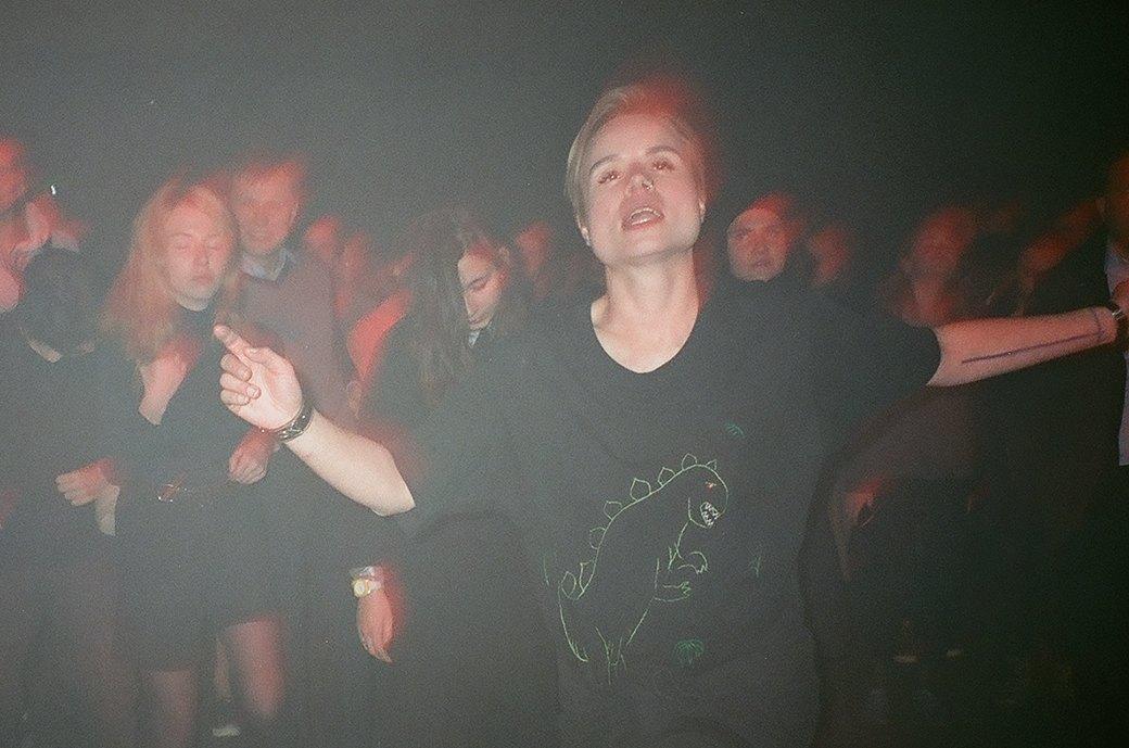 Фоторепортаж: Концерт «Панк-фракции красных бригад» в театре имени Вс. Мейерхольда. Изображение № 8.