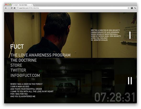 Официальный сайт марки FUCT. Изображение № 5.