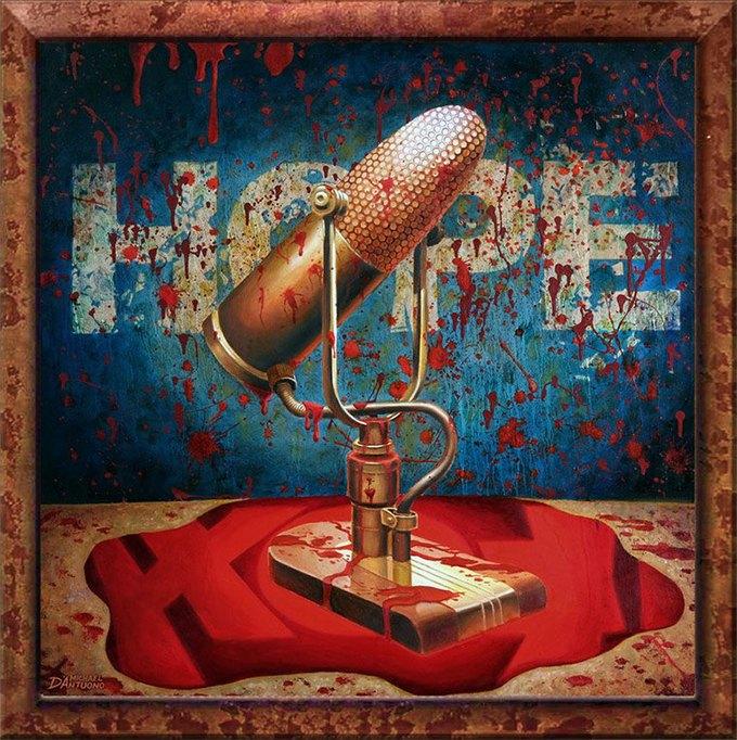 Майкл Д'Антуоно: Социальный поп-арт в работах американского художника. Изображение № 6.