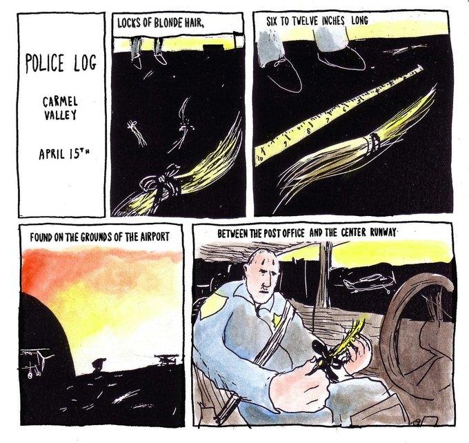 Police Log Comics: Абсурдные полицейские сводки в формате комиксов. Изображение № 7.