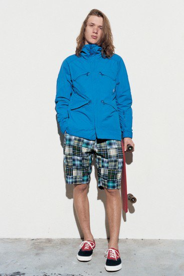 Марка Sophnet опубликовала лукбук весенней коллекции одежды. Изображение № 6.