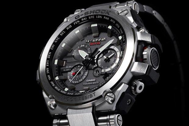 Марка Casio выпустила металлические часы G-Shock . Изображение № 5.