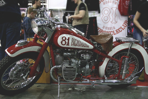 Лучшие кастомные мотоциклы выставки «Мотопарк 2012». Изображение № 24.