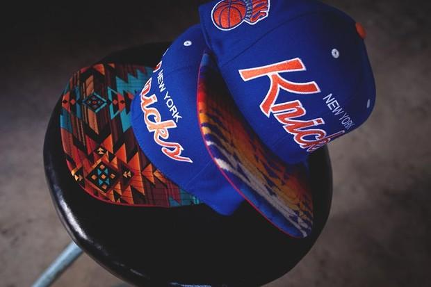 Genesis Project совместно с Pendleton выпустили коллекцию кепок с символикой команд НБА. Изображение № 6.