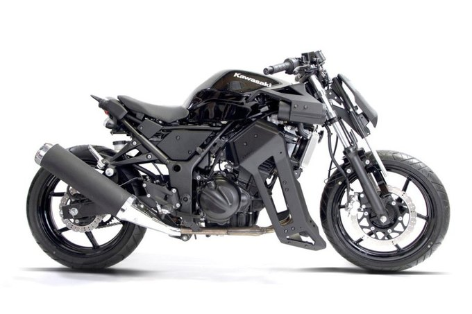 Мастерская Brasse кастомизировала Kawasaki Ninja 250. Изображение № 1.