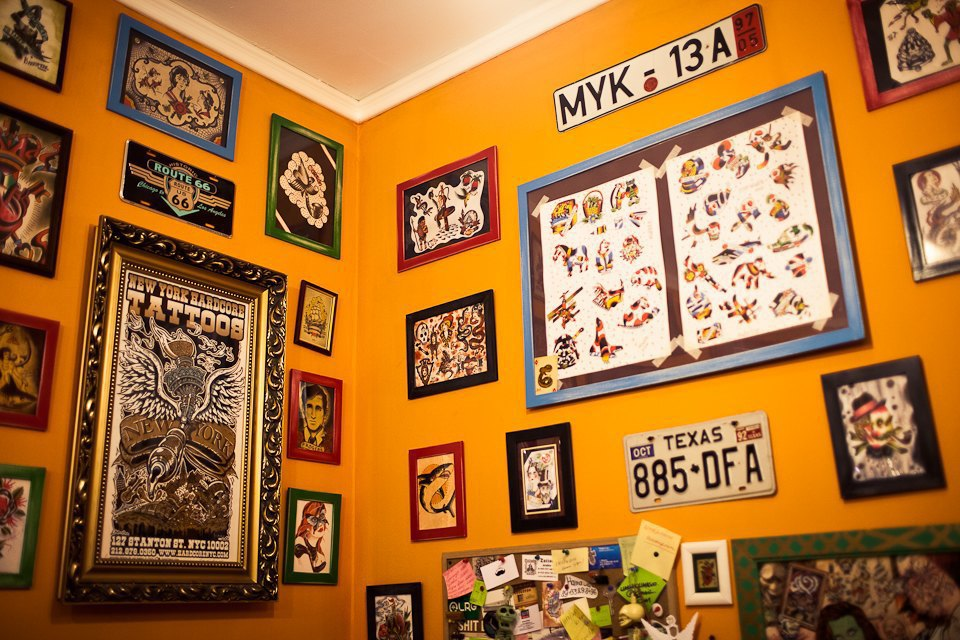 Бьет — значит любит: Старейшие татуировщики Москвы и их лучшие работы. Изображение № 11.