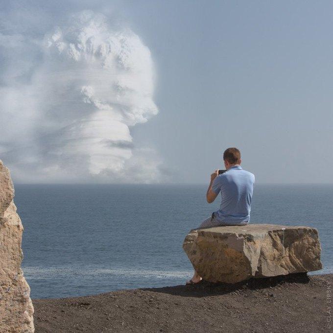 Atomic Overlook: Атомный взрыв как туристический объект на фото Клэя Липски. Изображение № 10.