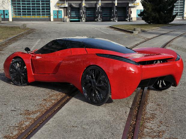 В Австрии сделали самый медленный в мире Ferrari. Изображение №3.