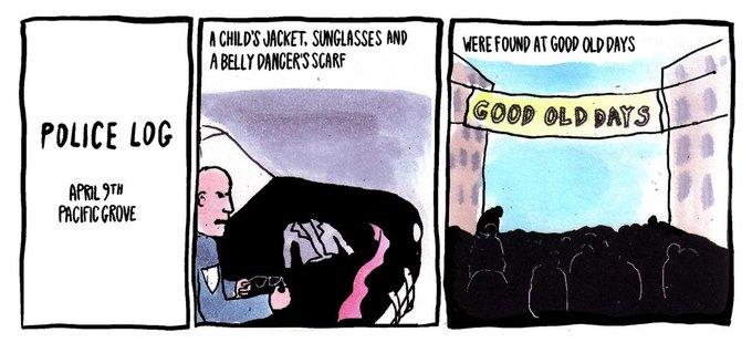 Police Log Comics: Абсурдные полицейские сводки в формате комиксов. Изображение № 26.