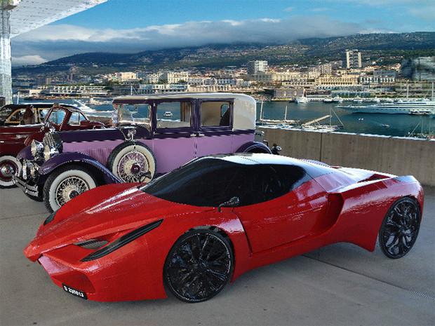 В Австрии сделали самый медленный в мире Ferrari. Изображение №5.