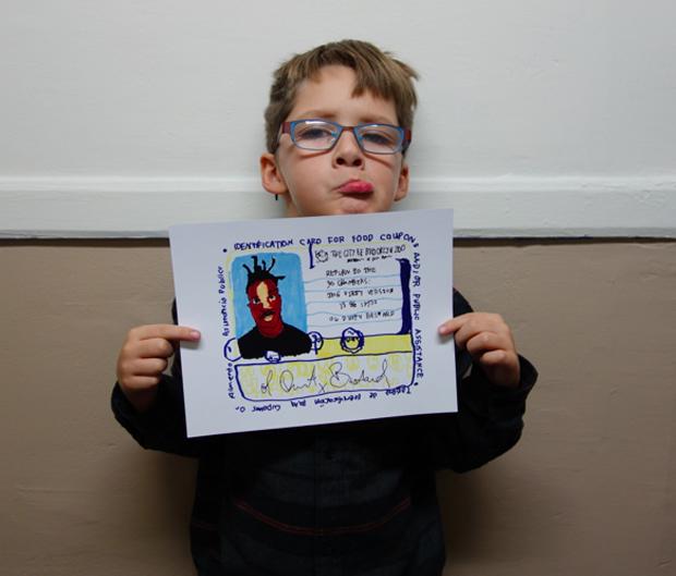 7-летний мальчик завёл Instagram с фан-артами обложек культовых музыкальных альбомов. Изображение № 4.