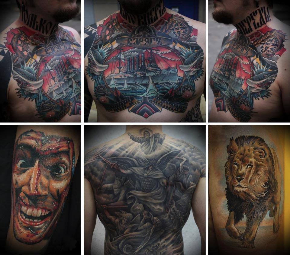 Бьет — значит любит: Старейшие татуировщики Москвы и их лучшие работы. Изображение № 12.