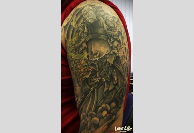 Избранные работы студии Love Life Tattoo. Изображение № 12.