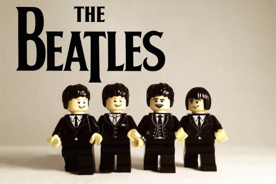 Lego-go: Культовые группы в виде фигурок из конструктора LEGO. Изображение № 7.
