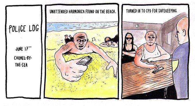 Police Log Comics: Абсурдные полицейские сводки в формате комиксов. Изображение № 25.
