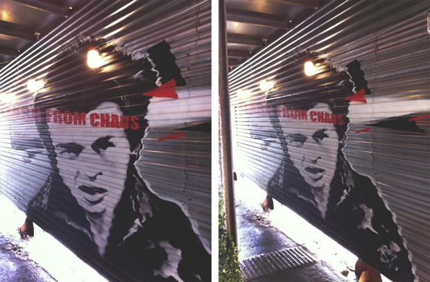 Граффити-художник P183 нарисовал портрет Сида Вишеза у входа в бар «Клава». Изображение № 25.