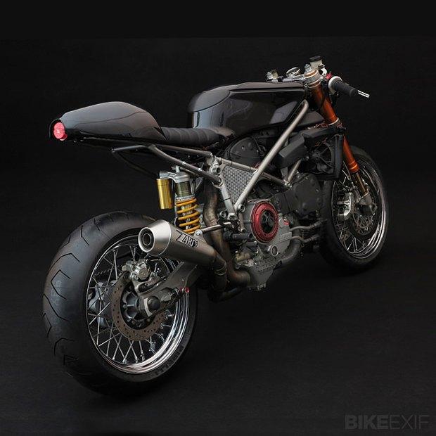 Мастерская Venier Custom собрала новый байк Ducati 999S Testastretta. Изображение № 6.