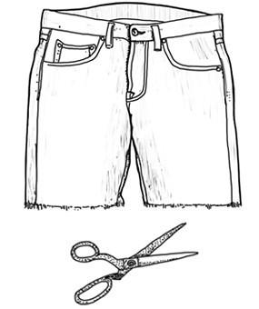 Шорт-кат: Философия обрезания джинс. Изображение № 1.