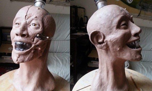 Шотландец восстановил лицо человека по черепу с бутылки водки Crystal Head. Изображение № 4.