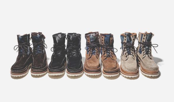 Новая коллекция обуви японской марки Visvim. Изображение № 1.