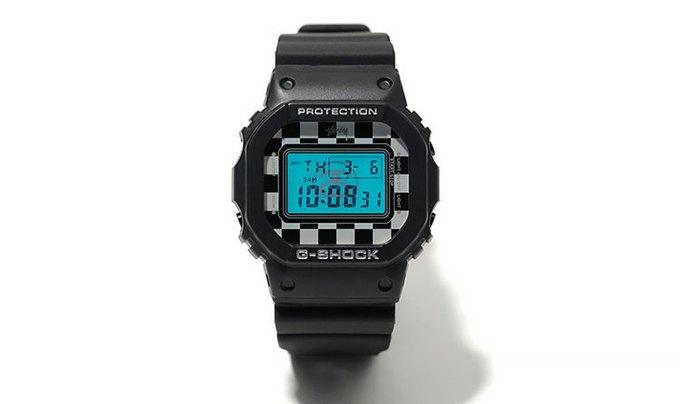 Компания Casio и марка Stussy выпустили совместную модель часов G-Shock. Изображение № 1.