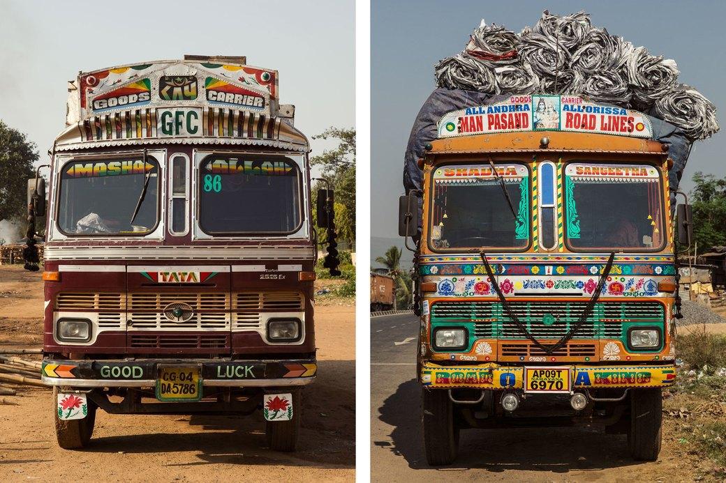 Я и друг мой грузовик: Индийские дальнобойщики и их автомобили. Изображение № 14.