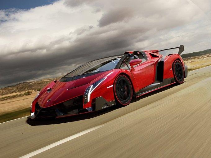 Lamborghini представили новый родстер Veneno. Изображение № 1.