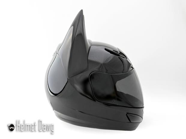 Компания Helmet Dawg спроектировала мотошлем по мотивам «Бэтмена». Изображение № 3.