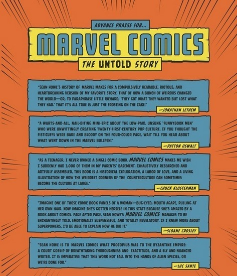 Вышла книга о создателях комиксов «Marvel». Изображение № 4.