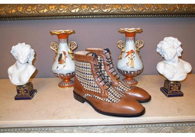 Московская марка «Мастерская 55» выпустила осеннюю коллекцию обуви. Изображение № 7.