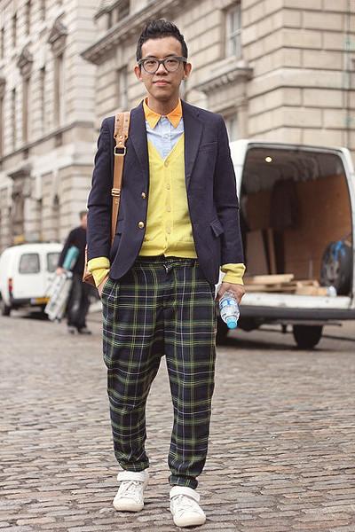 Уличный стиль на неделе моды в Лондоне. Изображение № 35.