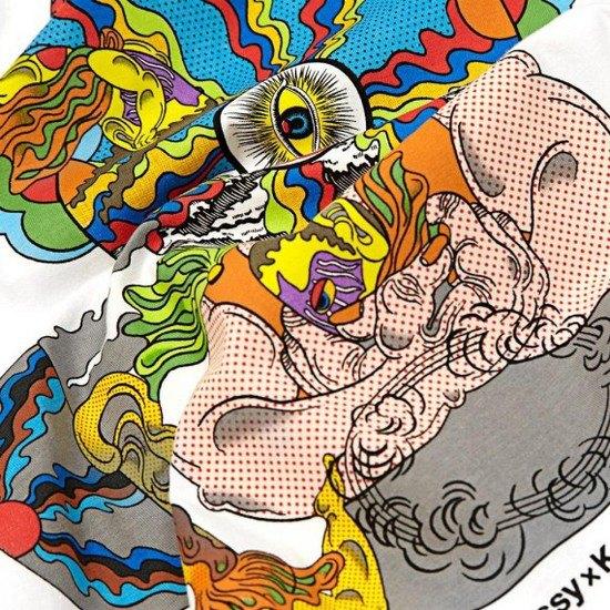 Марка Stussy и японский художник Кейичи Танами выпустили совместную коллекцию футболок. Изображение № 7.