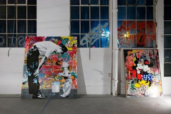 Выставка работ уличного художника Mr. Brainwash. Изображение № 3.