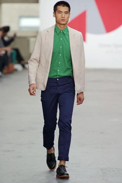 Марка Oliver Spencer выпустила летнюю коллекцию одежды. Изображение № 16.