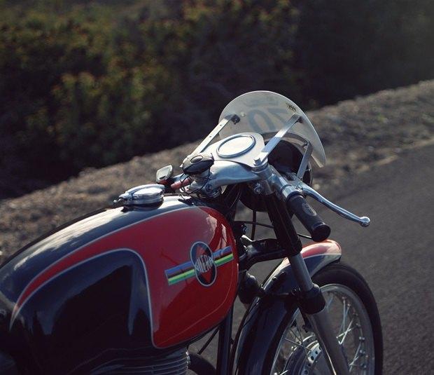 Мастерская Vintage Italian Restoration представила мотоцикл Gilera 175 Milano Taranto. Изображение № 9.