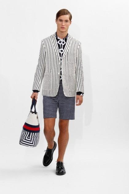 Марка Brooks Brothers представила новую коллекцию одежды линейки Black Fleece . Изображение № 13.