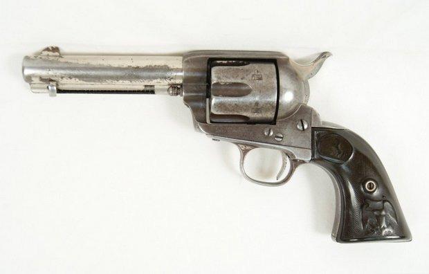 Кольт Бутча Кэссиди выставлен на аукцион за четверть миллиона долларов. Изображение № 1.