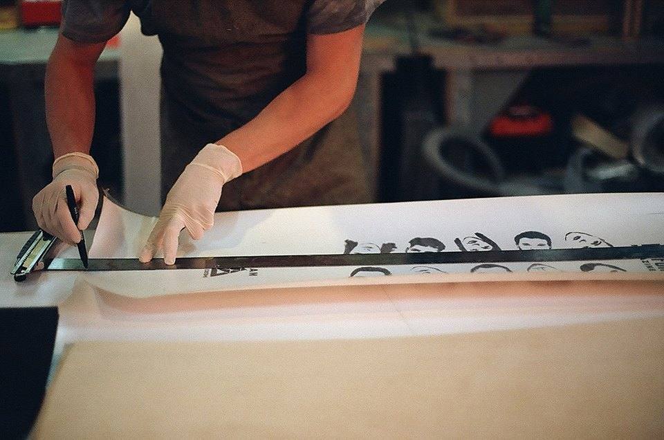 FURFUR х Pepper Customs: Как выглядит процесс создания лонгборда. Изображение № 6.